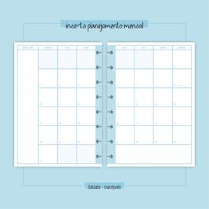 Inserts Planejamento Mensal