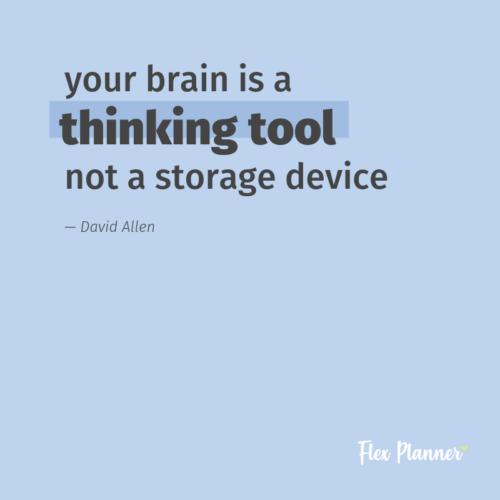 Seu cérebro não é um dispositivo de armazenamento