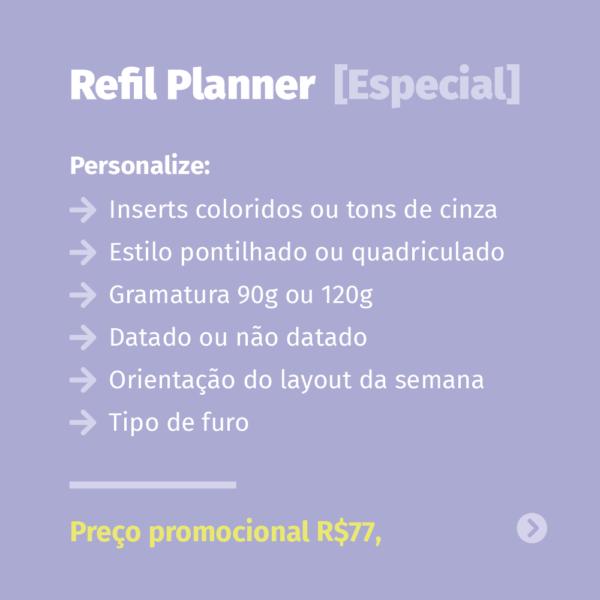 Refil Planner Especial