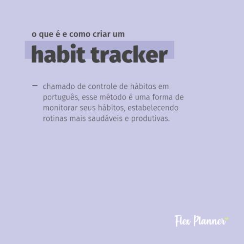 O que é e como criar um habit tracker (controle de hábitos)?