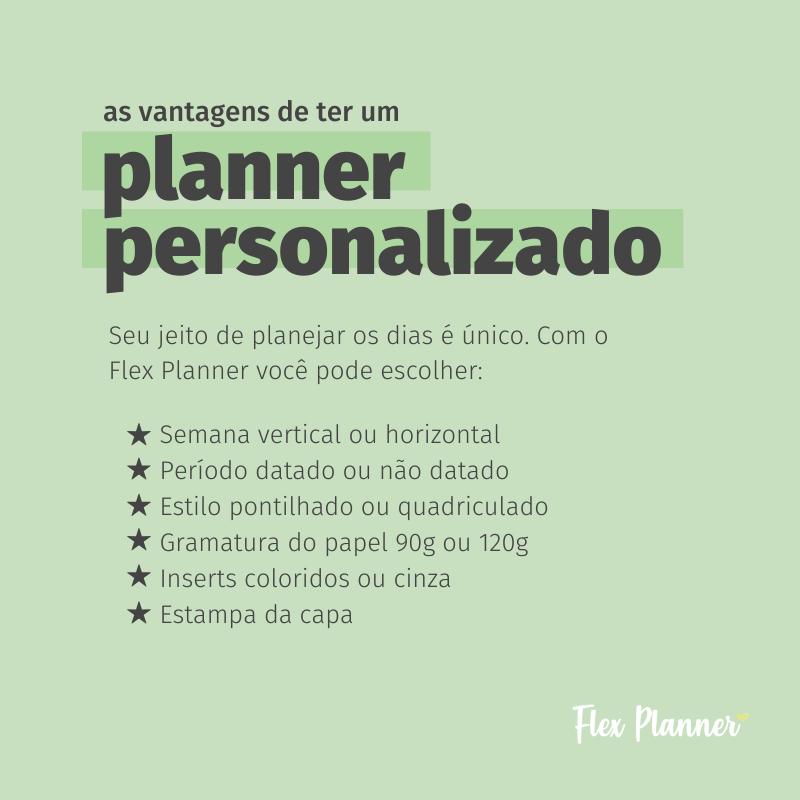As vantagens de ter um Planner Personalizado