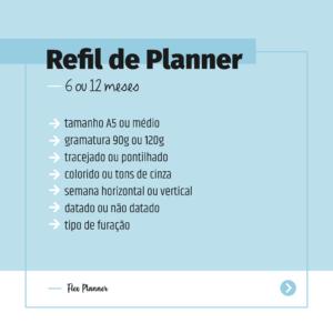 Refil de Planner