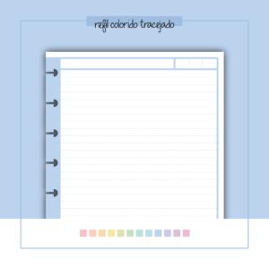 Refil de Caderno – Colorido