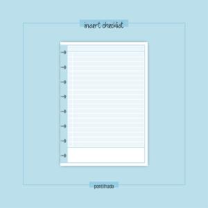 Insert Checklist